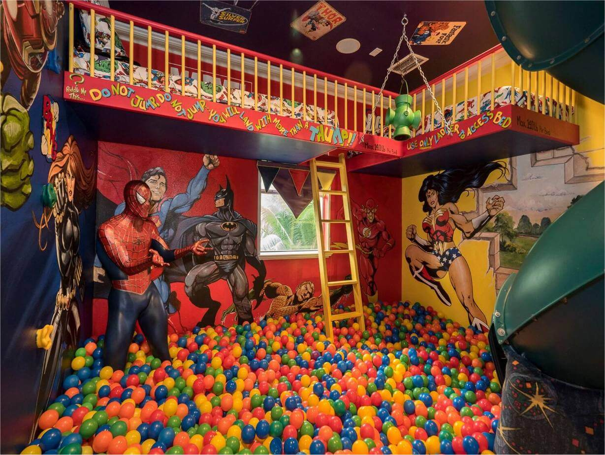 ballpit in a house