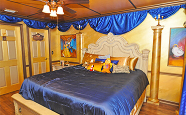 luxury bedrooms at vacation home rental